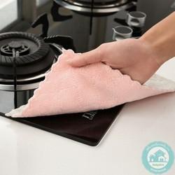 [ MUA 2 TẶNG 20K SHIP ] SÉT 10 khăn lau 2 mặt nhà bếp đa năng_Kích thước:27.5cm x 16cm