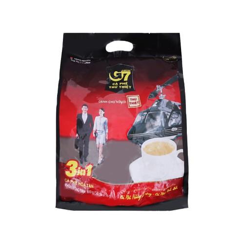 Cà phê sữa hòa tan g7 3 trong 1 800g 16g 50 gói