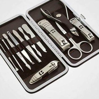Dụng cụ làm đẹp - Dụng cụ làm móng 12 món - Bộ làm móng - BLM12CT-1 thumbnail