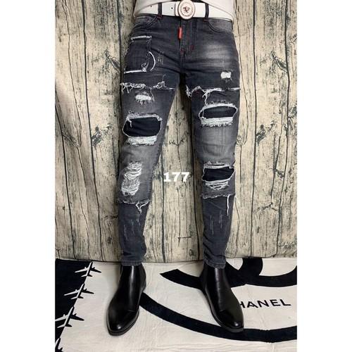 Quần jeans nam thời trang bụi bặm