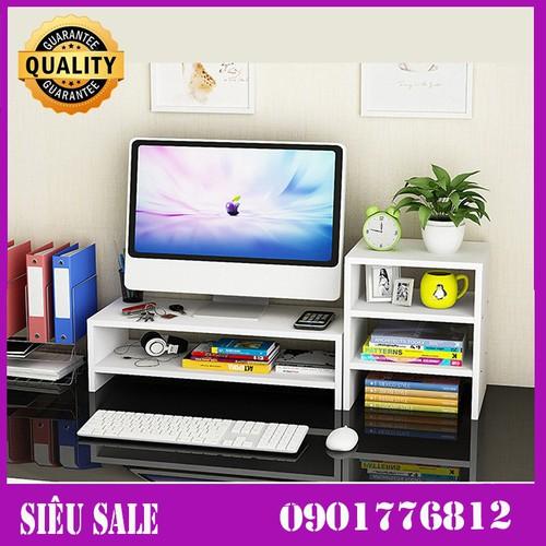 Kệ gỗ đê màn hình máy tính 2 tầng, có ngăn tủ phụ - 12905876 , 21340635 , 15_21340635 , 600000 , Ke-go-de-man-hinh-may-tinh-2-tang-co-ngan-tu-phu-15_21340635 , sendo.vn , Kệ gỗ đê màn hình máy tính 2 tầng, có ngăn tủ phụ