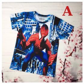 Áo thun bé trai hình siêu nhân nhện 8-24kg. Chất thun cotton in 3d sắc nét. Giặt không vỡ hình - Red Ant Kids. - AT-040
