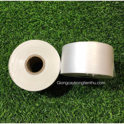 2 cuộn giấy ghép cây giống  dây nilon tự huỷ 10 x 5 cm
