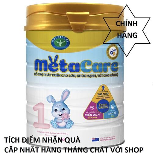 [ tích điểm ] sữa bột metacera 1 mới - giúp cho bé phát triển toàn diện
