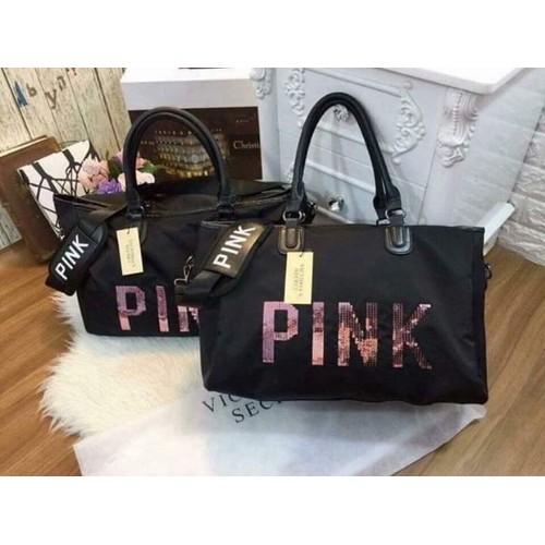Túi xách pink kim sa