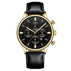 [SIÊU SEAL] Đồng hồ nam đẹp Sang trọng Đẳng cấp phái mạnh Chạy giả kim Boss company