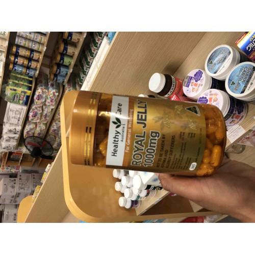 Sữa ong chúa Úc Healthy Care - 11847660 , 20494799 , 15_20494799 , 660000 , Sua-ong-chua-Uc-Healthy-Care-15_20494799 , sendo.vn , Sữa ong chúa Úc Healthy Care