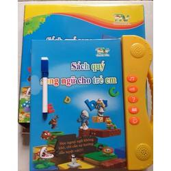 sách nói song ngữ cho bé học nhận biết hát kể chuyên hỏi đáp làm toán