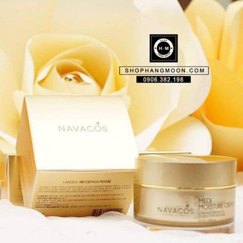 Kem dưỡng ẩm navacos medi moisture cream - 12633807 , 20484386 , 15_20484386 , 820000 , Kem-duong-am-navacos-medi-moisture-cream-15_20484386 , sendo.vn , Kem dưỡng ẩm navacos medi moisture cream