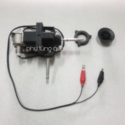 Đầu quạt gió 12v tặng kèm khóa lồng cánh - dùng acquy tiết kiệm điện - mô tơ đầu quạt 12v quạt kẹp bình