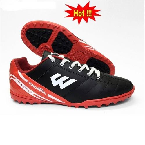 Giày đinh đá bóng sân cỏ nhân tạo prowin rx đen