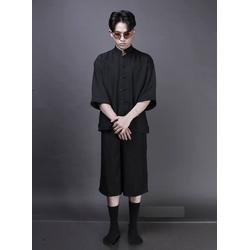 Bộ áo shanghai và quần culottes unisex