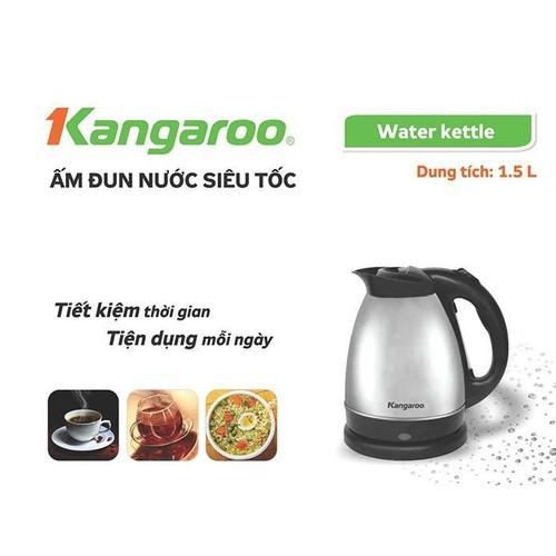 Ấm đun siêu tốc inox 1,5l kang aroo kg341 - am dun nuoc