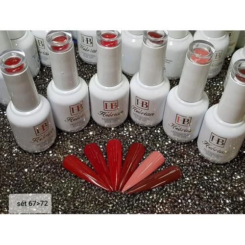 Sơn gel  hebrian 15 ml 67-72