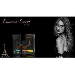 Nước hoa vùng kín Emma's Secret 10ml tặng chai 5ml khác mùi có TEM nhập khẩu.