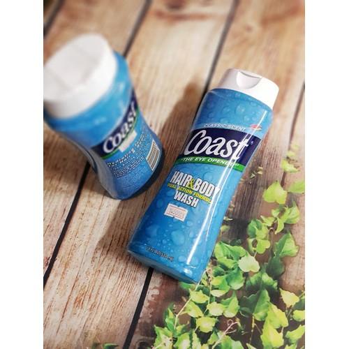Sữa tắm cho nam coast làm sạch cơ thể