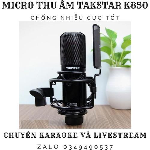 Micro thu âm takstar pc k850 chống nhiễu âm chuyên dùng karaoke và thu âm chuyên nghiệp - 12657325 , 20516681 , 15_20516681 , 3800000 , Micro-thu-am-takstar-pc-k850-chong-nhieu-am-chuyen-dung-karaoke-va-thu-am-chuyen-nghiep-15_20516681 , sendo.vn , Micro thu âm takstar pc k850 chống nhiễu âm chuyên dùng karaoke và thu âm chuyên nghiệp