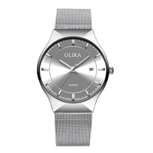Đồng hồ nam olika dây titanium cao cấp - hàng chính hãng