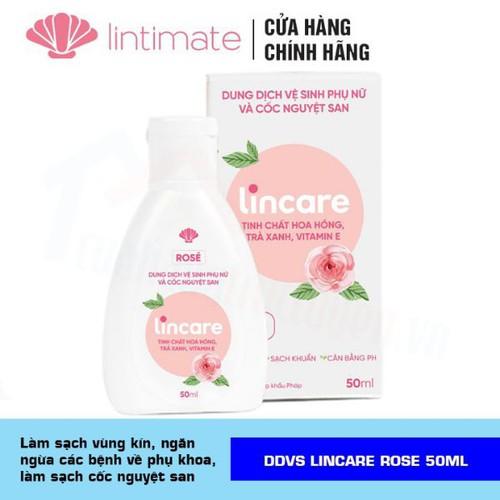Dung dịch vệ sinh lincare rose hàng chuẩn