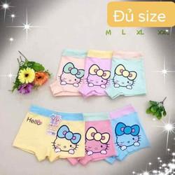 Set 10 quần lót đùi cho bé hình Hello Kitty