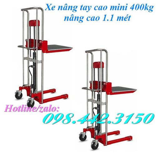 Xe nâng tay cao mini 400kg - 12647756 , 20503486 , 15_20503486 , 8199000 , Xe-nang-tay-cao-mini-400kg-15_20503486 , sendo.vn , Xe nâng tay cao mini 400kg