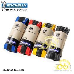 Vỏ lốp gấp xe đạp Michelin Lithion2 700x23c - 1 chiếc - Có bao bì