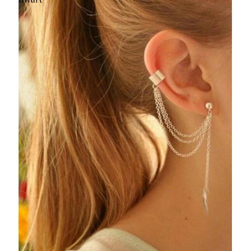 Khuyên vành tai thả dài