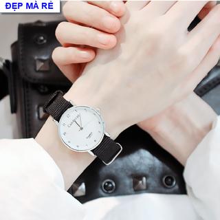 Combo 2 chiếc đồng hồ mặt số cổ điển dây dù cá tính - DH2019300094100150 thumbnail