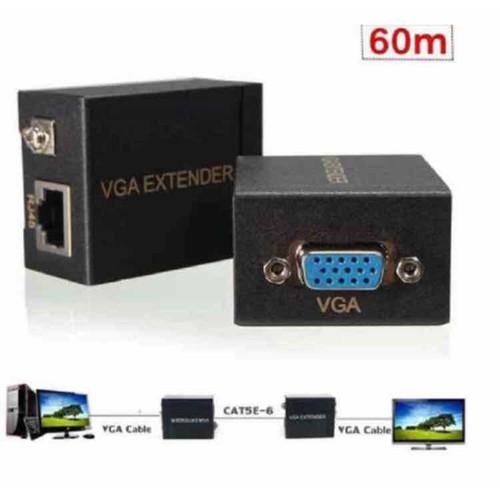 Bộ nối dài khuếch đại vga 60m qua cáp mạng lan kèm 50m dây mạng cat6e bấm sẵn 2 đầu - 12645055 , 20499616 , 15_20499616 , 289000 , Bo-noi-dai-khuech-dai-vga-60m-qua-cap-mang-lan-kem-50m-day-mang-cat6e-bam-san-2-dau-15_20499616 , sendo.vn , Bộ nối dài khuếch đại vga 60m qua cáp mạng lan kèm 50m dây mạng cat6e bấm sẵn 2 đầu