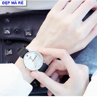 Combo 2 chiếc đồng hồ mặt số đá dây dù cá tính - DH2019300093100150 thumbnail