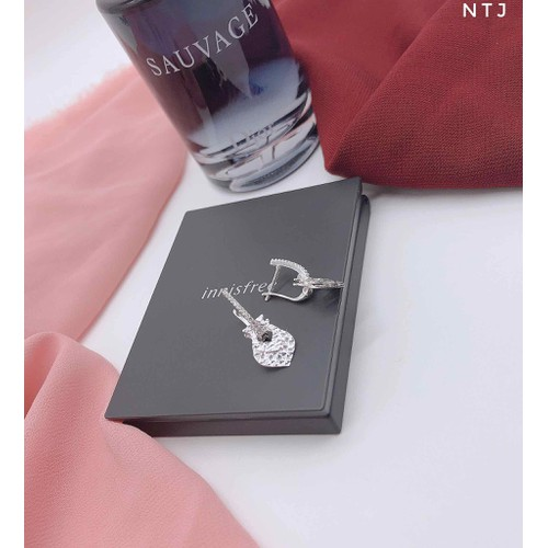 Bông tai bạc nữ bạc italy cao cấp 925