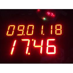 Đồng hồ vạn niên điện tử treo tường
