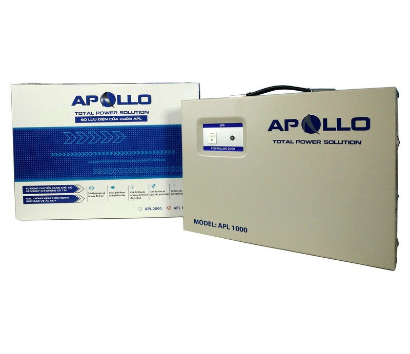 Bộ Lưu Điện UPS Cửa Cuốn APOLLO APL1000 1000VA 800W