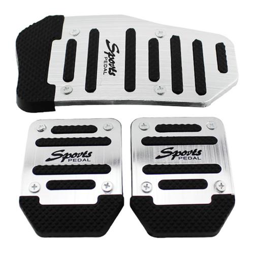 Bộ bọc chân phanh số sàn ti104 - trắng đen tặng niếng dán chống xước tay nắm cửa xe k 239