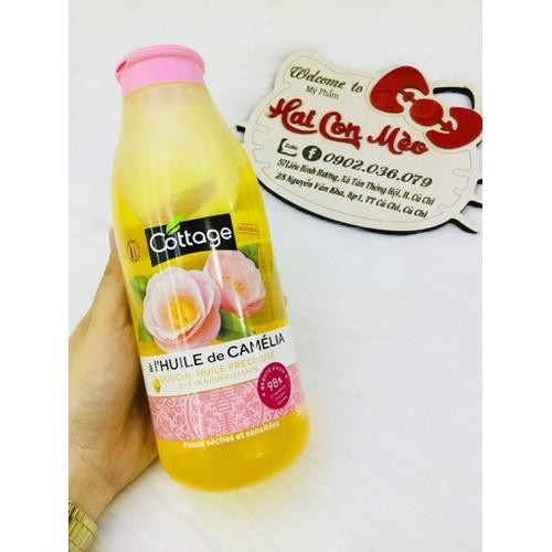 Sữa tắm cottage hương hoa trà 560ml