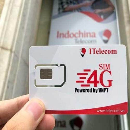 Sim 4g itelecom sử dụng sóng vina tốc độ điện xẹt