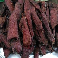 1kg thịt lợn đen sấy khô đặc sản núi rừng tây bắc