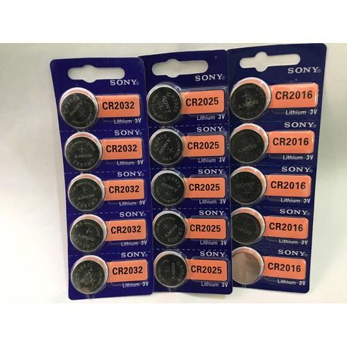 1 viên pin cúc áo sony 3v cr2032, cr2025, cr2016 – pin nút cr2032 sony lithium 3v - 12646534 , 20501819 , 15_20501819 , 22000 , 1-vien-pin-cuc-ao-sony-3v-cr2032-cr2025-cr2016-pin-nut-cr2032-sony-lithium-3v-15_20501819 , sendo.vn , 1 viên pin cúc áo sony 3v cr2032, cr2025, cr2016 – pin nút cr2032 sony lithium 3v