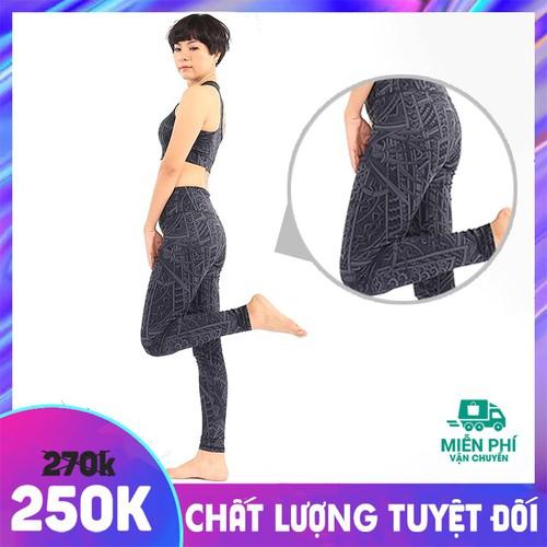Set bộ đồ tập gym yoga thể thao nữ