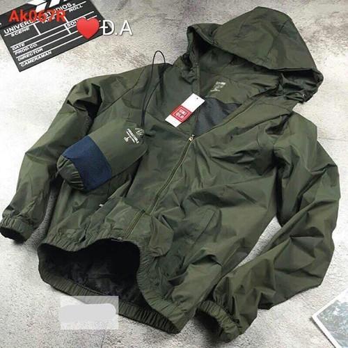 Áo khoác gió cho nam nữ, mặt chống nắng hoặc mưa siêu tiện lợi mà k01
