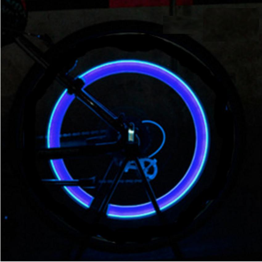 Bộ 4 đèn LED gắn van bánh xe máy ô tô TI131 2