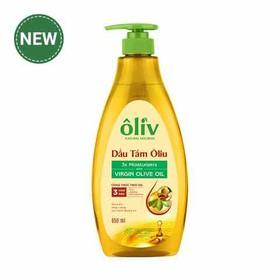 Dầu Tắm Ôliv Virgin Olive Oil 650ml - dầu tắm