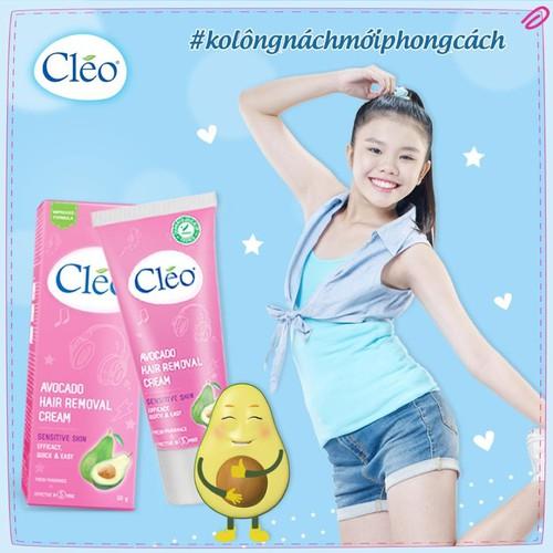Kem tẩy lông cleo avocado hair removal cream sensitive skin 50g - dành cho da nhạy cảm - 12136451 , 20542262 , 15_20542262 , 95000 , Kem-tay-long-cleo-avocado-hair-removal-cream-sensitive-skin-50g-danh-cho-da-nhay-cam-15_20542262 , sendo.vn , Kem tẩy lông cleo avocado hair removal cream sensitive skin 50g - dành cho da nhạy cảm
