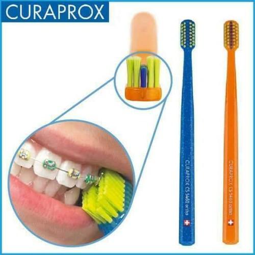 Bàn chải răng niềng curaprox cs5460 ortho