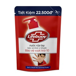 Nước Rửa Tay Lifebuoy Bảo Vệ Vượt Trội Dạng Túi 450g