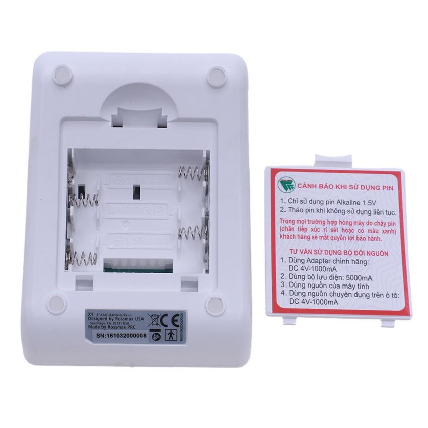 Máy đo huyết áp điện tử Bắp tay Rossmax X1 thương hiệu Thụy sỹ