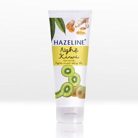 Sữa Rửa Mặt Sáng Da Hazeline Kiwi Nghệ 100g - 8934868126850
