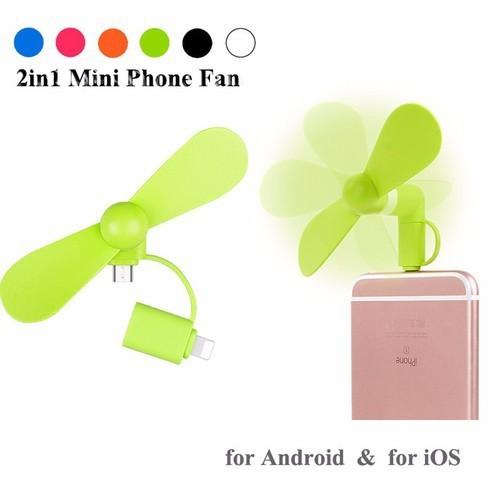Quạt mini 2in1 micro USB+Lighning dành cho điện thoại - 11683881 , 20533705 , 15_20533705 , 40000 , Quat-mini-2in1-micro-USBLighning-danh-cho-dien-thoai-15_20533705 , sendo.vn , Quạt mini 2in1 micro USB+Lighning dành cho điện thoại