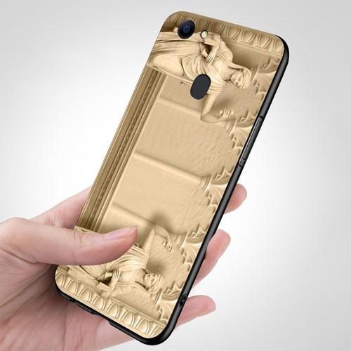 Ốp điện thoại kính cường lực cho máy Oppo F5 - hình Điêu Khắc MS DKHAC027