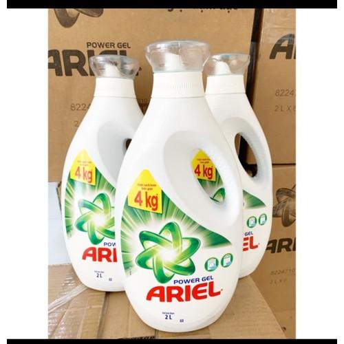 Nước giặt ariel 2400ml sạch nhanh hoặc downy